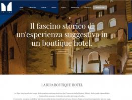 La Ripa Boutique Hotel**** – Bergamo
